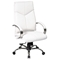 Pro-Line II 7270 - Deluxe High Back White Leather Executive Chair - OSP-7270