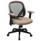 Space Seating 819 Series DuraGrid Back and Latte Mesh Seat Managers Chair