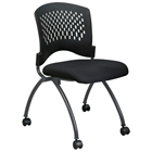 Pro-Line II Folding Deluxe Chair with Ventilated Backrest (Set of 2)