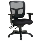 Pro-Line II ProGrid Back Managers Chair with Height and Width Adjustable Arms