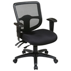 Pro-Line II ProGrid Back Ergonomic Task Chair with Dual Function Control