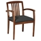 Kenwood Light Cherry Guest Chair with Custom Seat Upholstery (Set of 2) - OSP-KEN-992-LCH