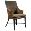 Palm Beach Outdoor Dining Armchair - Cushion, Rattan Weave