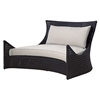Tides Outdoor Double Lounge - Cushions, Octagonal Weave