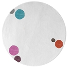 Havana Dots - White & Mixed colors 1 Rug