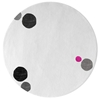 Havana Dots - White & Mixed colors 6 Rug