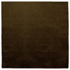 Square Samba Contigo - Dark Brown Rug