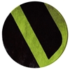 Velour - Black & Bleecker Green Rug