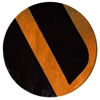 Velour - Black & Orange Rug
