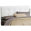 Lyra Headboard - Microsuede, Pull Tufts, White