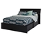 Step One Queen Storage Bed - Pure Black - SS-3107222