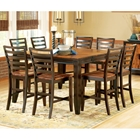 Abaco 9 Piece Two Toned Counter Set