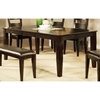 Victoria Wood Rectangular Dining Table