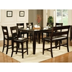 Victoria 8 Piece Counter Set with Bench