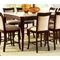 Marseille 9 Piece Counter Set with Marble Top Table - SSC-MS-CNTR-MARBLE-9PC