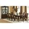 Montblanc 9 Piece Dining Set in Merlot Finish - SSC-MB500-9PC