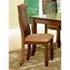 Montreal Side Chair with Slatted High Backrest