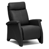 Sequim Modern Recliner Club Chair - Black