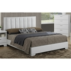 Carlson Queen Platform Bed - White