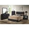 Carlson Queen Platform Bed - Black - WI-C4333A-QUEEN-BLACK