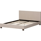 Elizabeth Upholstered Platform Bed - Panel-Stitched