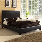 Cambridge Platform Bed - Dark Brown
