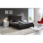 Vivaldi Platform Bed - Faux Leather