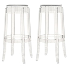 Bettino Clear Acrylic Bar Stool