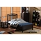 Seconique Twin Platform Bed - Wenge - WI-SB342-TWIN-WENGE