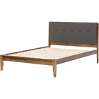 Leyton Platform Bed - Button Tufted
