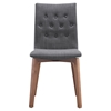 Orebro Dining Chair - Tufted, Graphite