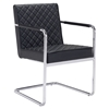 Quilt Dining Chair - Black
