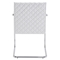Quilt Dining Chair - White - ZM-100190