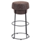 Pop Barstool - Natural and Distressed - ZM-100196