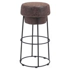 Pop Barstool - Natural and Distressed
