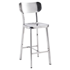 Winter Counter Chair - Stainless Steel