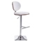 Lion Bar Chair - Adjustable, White - ZM-100321