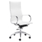 Glider High Back Office Chair - White - ZM-100372
