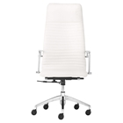 Lion High Back Office Chair - White