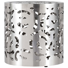 Kihei Modern End Table - Stainless Steel, Round