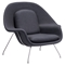 Nursery Chair and Ottoman - Light Gray - ZM-501153
