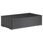 Cartagena Outdoor Coffee Table - Espresso
